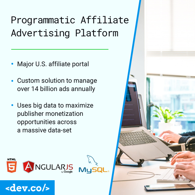 Programmatic Affiliate Advertising Platform