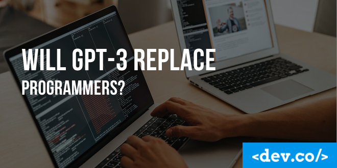 GPT-3 replace programmers